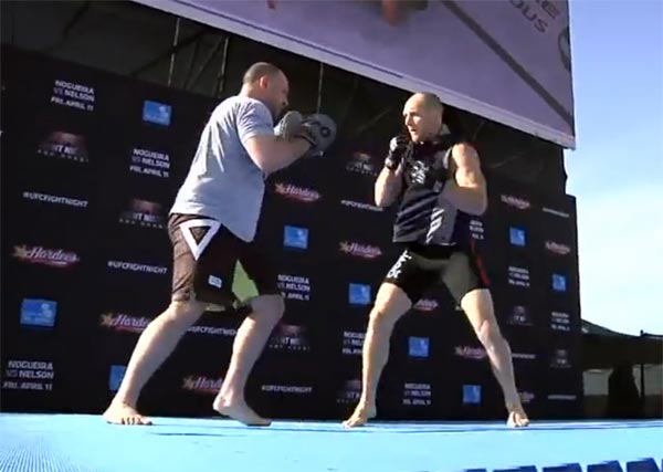 ufc abu dhabi open workout