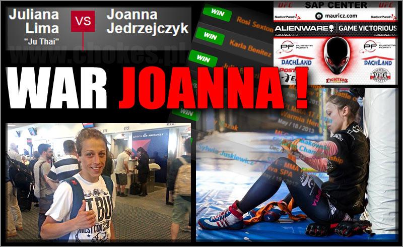 War Joanna Jędrzejczyk