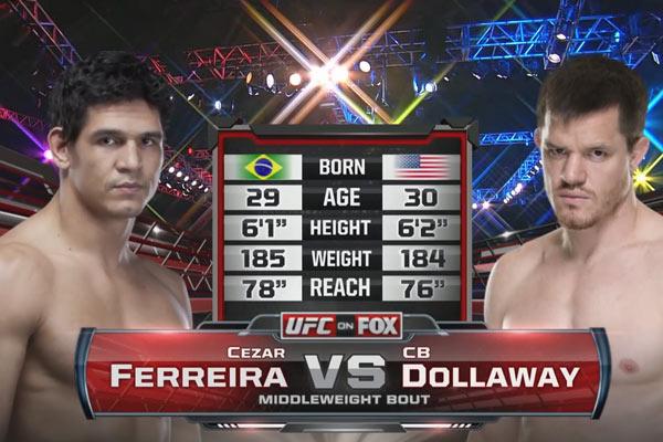 CB Dollaway vs. Cezar Ferreira
