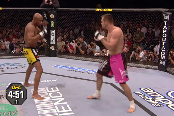 Anderson Silva vs. Rich Franklin