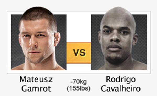 Mateusz Gamrot vs. Rodrigo Cavalheiro