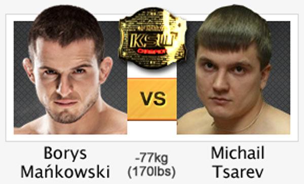 Mikhail Tsarev vs. Borys Mańkowski
