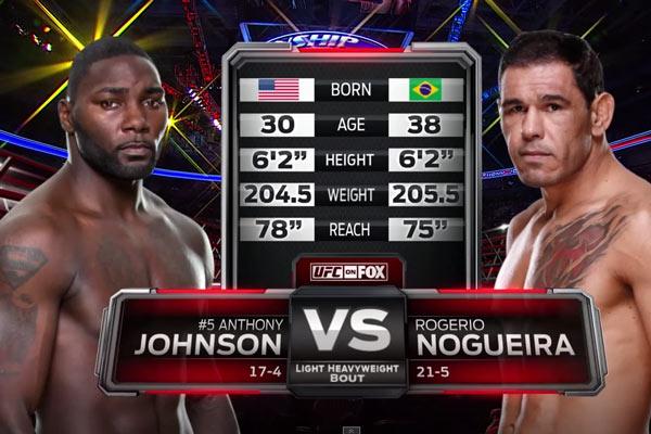 Johnson vs. Nogueira