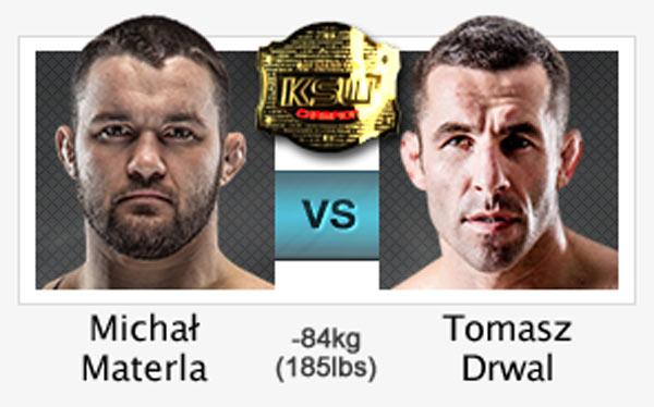 Michał Materla vs Tomasz Drwal