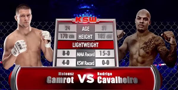 Gamrot vs Cavalheiro