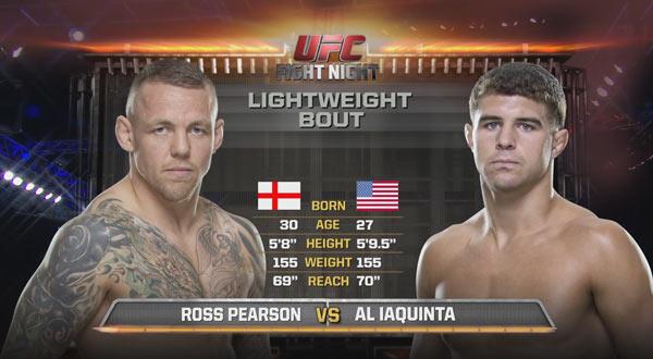 Al Iaquinta vs. Ross Pearson