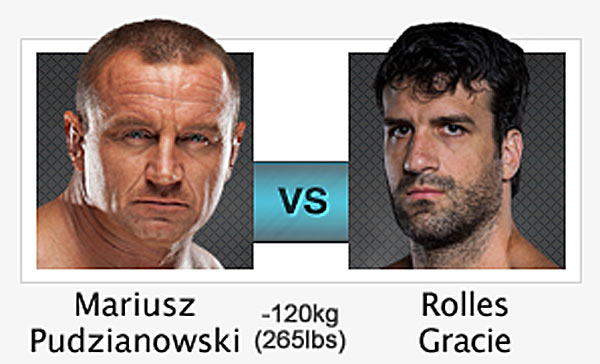 Rolles Gracie vs. Mariusz Pudzianowski