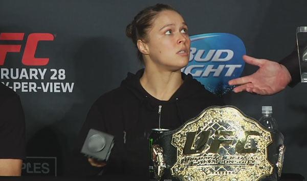 UFC 184 konferencja prasowa