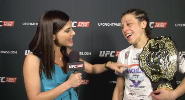 UFC 185: Joanna Jedrzejczyk