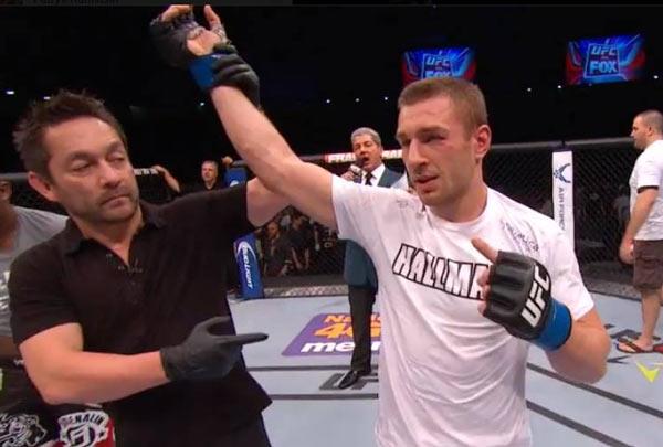 Piotr Hallmann UFC Berlin