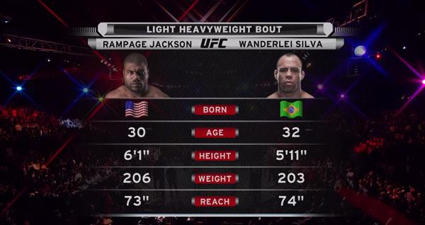 Rampage Jackson vs. Wanderlei Silva