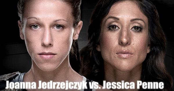 Joanna Jedrzejczyk vs. Jessica Penne