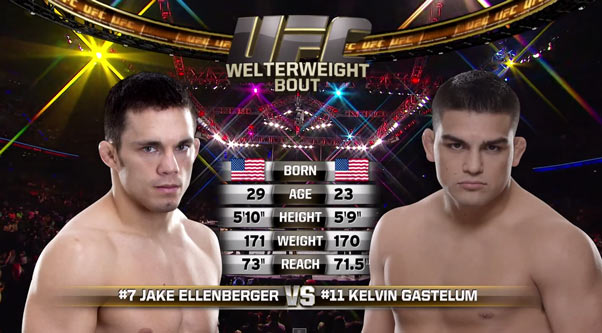 Kelvin Gastelum vs. Jake Ellenberger