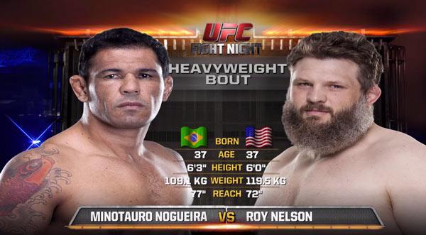 Roy Nelson vs Minotauro Nogueira