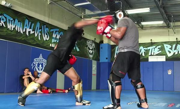 Ryan Bader vs Rashad Evans