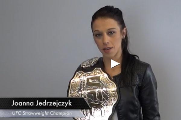 Joanna Jędrzejczyk zaprasza na UFC 193