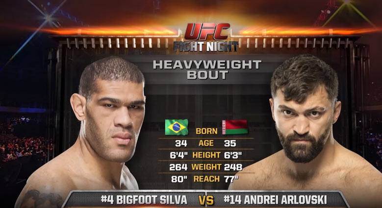 Arlovski vs Bigfoot Silva