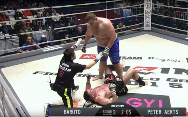 Baruto vs. Peter Aerts