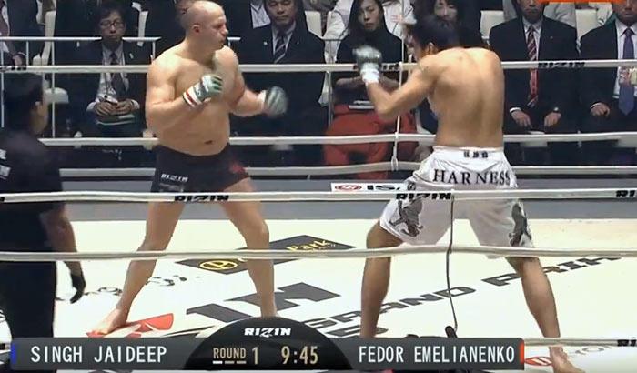 Fedor Emelianenko vs Jaideep Singh