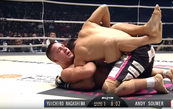 Yuichiro Nagashima vs. Andy Souwer