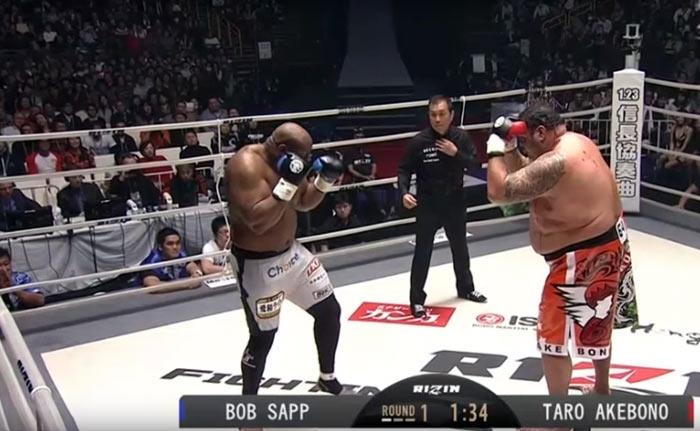 Bob Sapp vs. Akebono