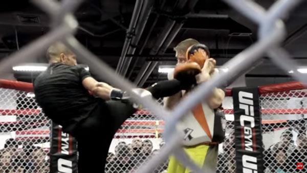 Fight Night Boston Open Workout