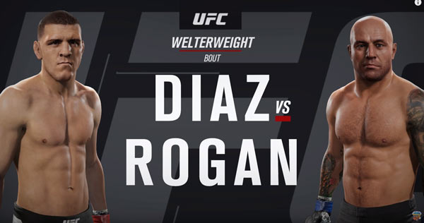 Nick Diaz vs Joe Rogan