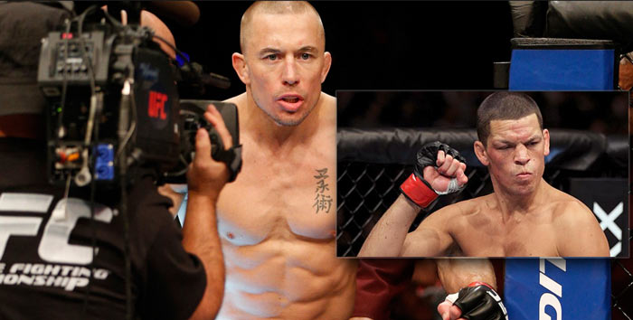 gsp vs nate diaz