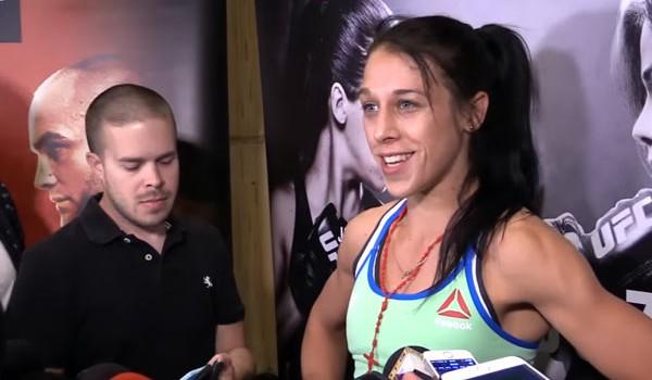 W środku posta znajdziecie Media Scrum Joanny Jędrzejczyk oraz Claudii Gadelha po media treningu przed finałową galą The Ultimate Fighter 23.