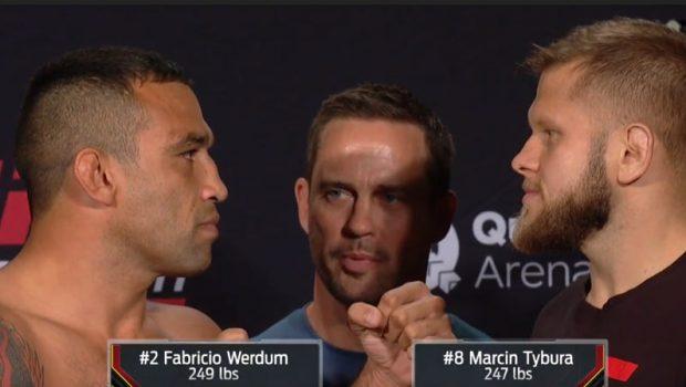 UFC Fight Night Sydney video z ważenia w środku posta. Na gali w walce wieczoruMarcin TyburavsFabricio Werdum! W walce rozpoczynającej galę zawalczyAdam Wieczorek.